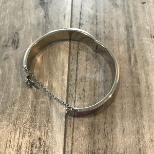 Coach Jewelry - Coach Silver and Pink Bangle